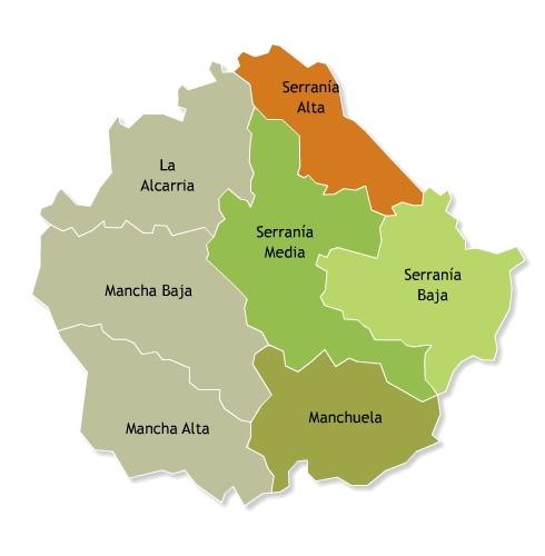 Cuenca Reserva de la Biosfera Valle del Cabriel