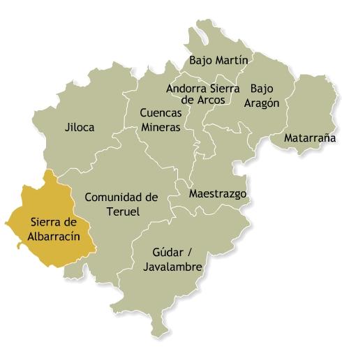 Teruel Reserva de la Biosfera del Valle del Cabriel
